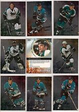 1998-99 ITG BAP Be A Player Complete Signature San Jose Sharks Team Set (12)