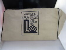 1980 Olympic Winter Games XIII Lake Placid Duffel  tote Bag
