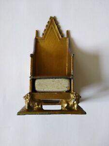 Vintage Coronation Chair of England No 1474
