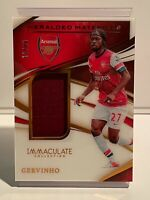 2020 Panini Immaculate Heralded Materials Gervinho /50