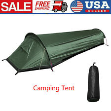 Portable Camping Tent Outdoor Hiking Sleeping Bag Tent One Person Travel Tent US