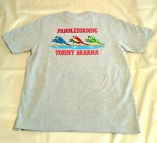 Tommy Bahama Paddle Birding Graphic T-Shirt Men's Size M Gray Heather MSRP $49