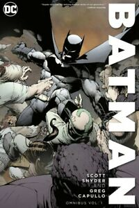 Batman by Scott Snyder Greg Capullo Omnibus Vol. 1 DC Comics HC Brand New Sealed