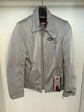 GIACCA JACKET DONNA MOTO SCOOTER ALPINESTARS 4W DOWNTOWN TESSUTO GRIGIO TG L