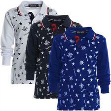 Langarm Jungen-T-Shirts & -Polos mit Polokragen Motiv