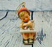 "Hummel Goebel Christmas Ornament Girl Making Cookies ""Christmas Cookies"" 1997"