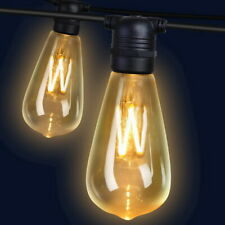 Jingle Jollys 41m LED Festoon String Lights 40 Bulbs Kits Wedding Christmas St64