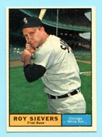 1961 Topps # 470B Roy Sievers (NM) -- White Sox     (Box # 702)