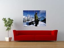 CRAIG KELLY SNOWBOARDING WINTER SPORT GIANT ART PRINT PANEL POSTER NOR0507