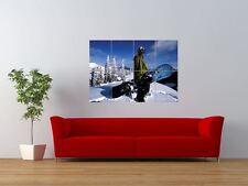 CRAIG KELLY SNOWBOARDING WINTER SPORT GIANT ART PRINT PANEL POSTER NOR0507