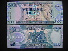GUYANA  100 Dollars 2006  (P36b)  UNC