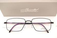 New Silhouette Eyeglass Frames Titan Notion 5287 6054 Black  Men