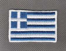 Flag Greece Bandera de Grecia Parche bordado Thermo-Adhesivo iron-on patch