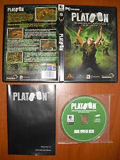 Platoon [PC CD-ROM] Digital Reality Versión Española COMPLETO EN MUY BUEN ESTADO