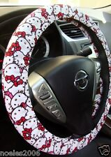 Handmade Steering Wheel Cover Hello Kitty All Over Packed