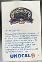 1980's L.A. DODGERS UNOCAL PIN (UNUSED) - DODGER STADIUM 1962-1987