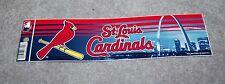 ST. LOUIS CARDINALS MLB BASEBALL SPORTS BUMPER STICKER