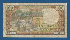 MADAGASCAR -- 100 FRANCS = 20 ARIARY ND ( 1966 ) -- BC- // F- -- PICK 57a .