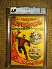 Amazing Spider-Man # 8 CGC 5.0 VG/FN 1st appearance of the Living Brain