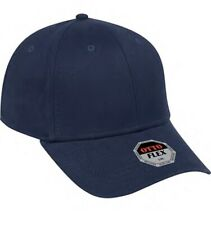 BRAND NEW NAVY BLUE OTTO CAP HAT FLEX FIT S/M ADULT SZ FITTED CURVED BILL FITTED