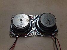 Set of 2 x 12 ohm 15W 15 watts 2.5 inch Stereo Speaker