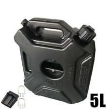 5L Fuel Tank Cans Spare Plastic Petrol Tanks Mount Motorcycle Gas Can Gasoline