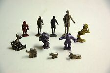 Metal Gaming Figures lot including Robots and Lincoln see photos