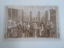 Rare Vintage RPPC People In Costumes LEEDS J Roberts Photographer       §G228