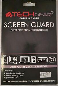 TechGear, Screen Guard For Amazon Fire 7'' 5th Gen/2015
