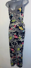 FAB BNWT OASIS FLORAL SUMMER ALL IN ONE JUMPSUIT SZ 16
