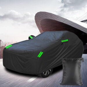 All Weather Car Cover Protection Waterproof Rain/UV/Dust Sunscreen Reflective