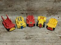 Vintage Lego Duplo Vehicles Bundle Cars