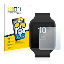 Sony Smartwatch 3 SWR50, 2 x BROTECT® Matte Glass Screen Protector, Anti-Glare