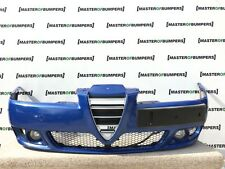 ALFA ROMEO 156 2003-2006 FRONT BUMPER IN BLUE FULLY COMPLETE GENUINE