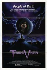 TERROR VISION Movie POSTER 27x40 Diane Franklin Gerrit Graham Mary Woronov Chad