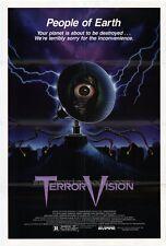 TERROR VISION Movie POSTER 27x40 Diane Franklin Gerrit Graham Mary Woronov Chad