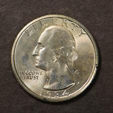 1934 WASHINGTON 25C Silver QUARTER DOLLAR ** HIGH GRADE Lot#B727