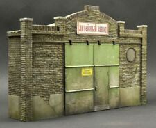 DioDump DD049 Industrial facade PLASTER VERSION 1:35 scale diorama factory