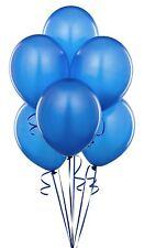 """100 PZ 12"""" Dark Blue Diadema Con Palloncini Party decorazioni compleanno anniversario"""