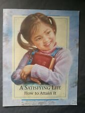 New listing A Satisfying Life How To Attain It New Brochure WatchTower Bible & Tract