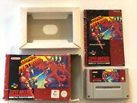 Super Metroid Game SNES Super Nintendo Original Genuine Boxed PAL