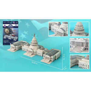 US Capitol Building 3D Puzzle, 132 Pieces. Daron. Shipping Included