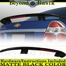 2004-2011 Chevy Aveo 4DR Sedan MATTE BLACK Factory Style Spoiler Wing w/LED