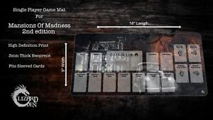 Mansions Of Madness 2nd edition Custom Made Game Mat