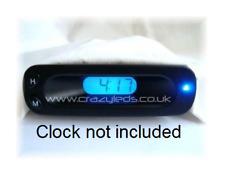 FORD FIESTA PUMA TRANSIT DEL Bleu DASH Clock Kit de conversion