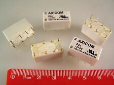 Relé Axicom V23105-A5303-A201 de señal interruptor DPDT 12VDC 3A nonlatching 5 piezas OLA1-03