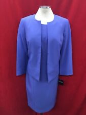"KASPER DRESS SUIT/LINED/NEW WITH TAG/RETAIL$240/LENGTH 41""/SIZE 14W/"