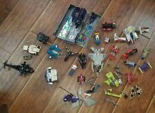 Vintage Broken Toy Parts Lot New Super Abega Transformers Bandai Optimus Prime