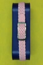 Bracelet montre ;NYLON TRESSE ,style NATO; ROSE ;Largeur 8 mm ;Longueur22cm.NEUF
