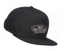 Vans Men's Classic Patch Snapback Baseball Cap, Black, One Size